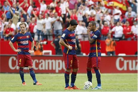 Vắng Messi, Barca ăn quả đắng