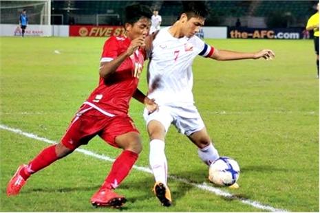 U19 Myanmar 0-1 U19 VN: Đức Chinh bỏ lỡ