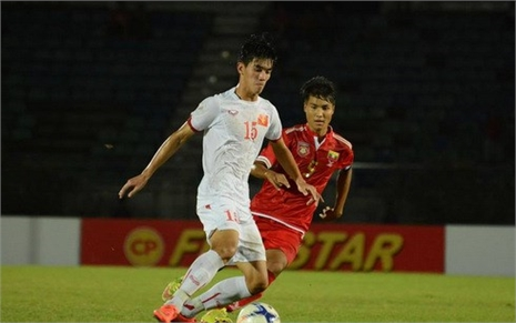 Clip U19 Myanmar 0-1 U19 Việt Nam