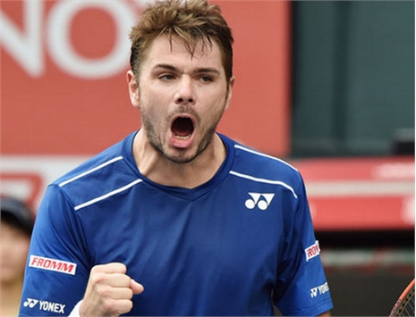 Rakuten Japan Tennis Open: Wawrinka hạ Stepanek