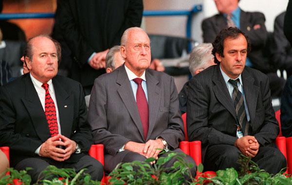 FIFA, Chủ tịch, UEFA, Platini, Blatter