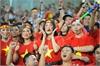 Dàn hot girl Việt cổ vũ bốc lửa tại Mỹ Đình