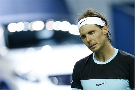 Nadal gục ngã ở bán kết Shanghai Masters