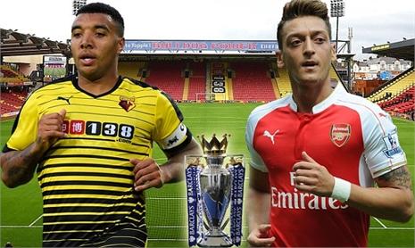 Watford 0-0 Arsenal: Khách làm chủ