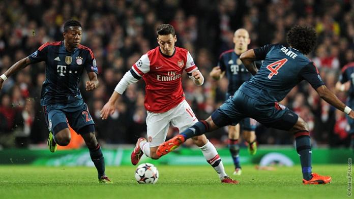 Bayern Munich, Arsenal, Champions League