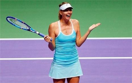 Người đẹp Sharapova vào bán kết WTA Finals đầy thuyết phục