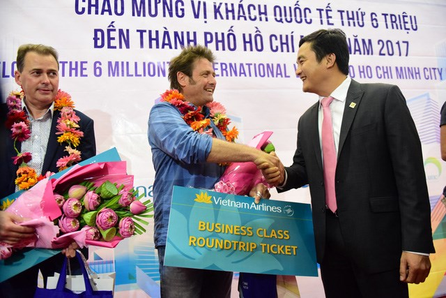 HCM City welcomes six millionth int'l visitor in 2017, travel news, Vietnam guide, Vietnam airlines, Vietnam tour, tour Vietnam, Hanoi, ho chi minh city, Saigon, travelling to Vietnam, Vietnam travelling, Vietnam travel, vn news