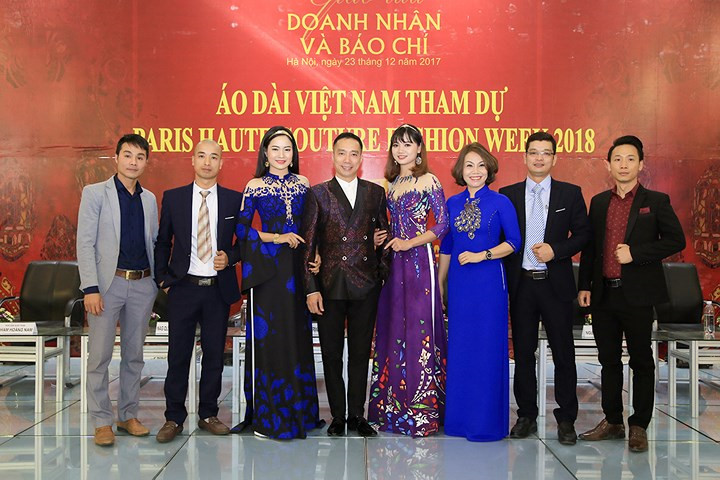 Designer Hoai Nam's collection to open Paris Fashion Week, entertainment events, entertainment news, entertainment activities, what's on, Vietnam culture, Vietnam tradition, vn news, Vietnam beauty, news Vietnam, Vietnam news, Vietnam net news, vietnamnet