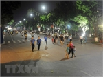Hoan Kiem pedestrian zone – an attraction of Hanoi