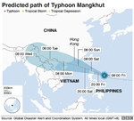 Typhoon Mangkhut: Millions in path of 'monster' storm