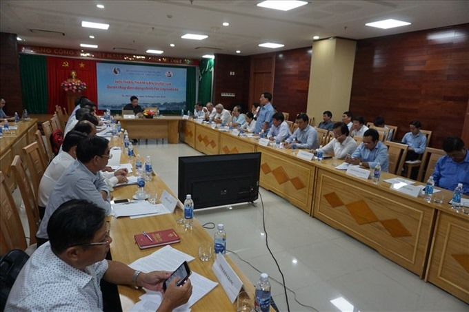 Workshop held for Lao hydropower plant, Vietnam environment, climate change in Vietnam, Vietnam weather, Vietnam climate, pollution in Vietnam, environmental news, sci-tech news, vietnamnet bridge, english news, Vietnam news, news Vietnam, vietnamnet news
