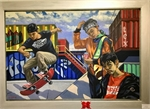 Exhibition showcases artworks by students nationwide