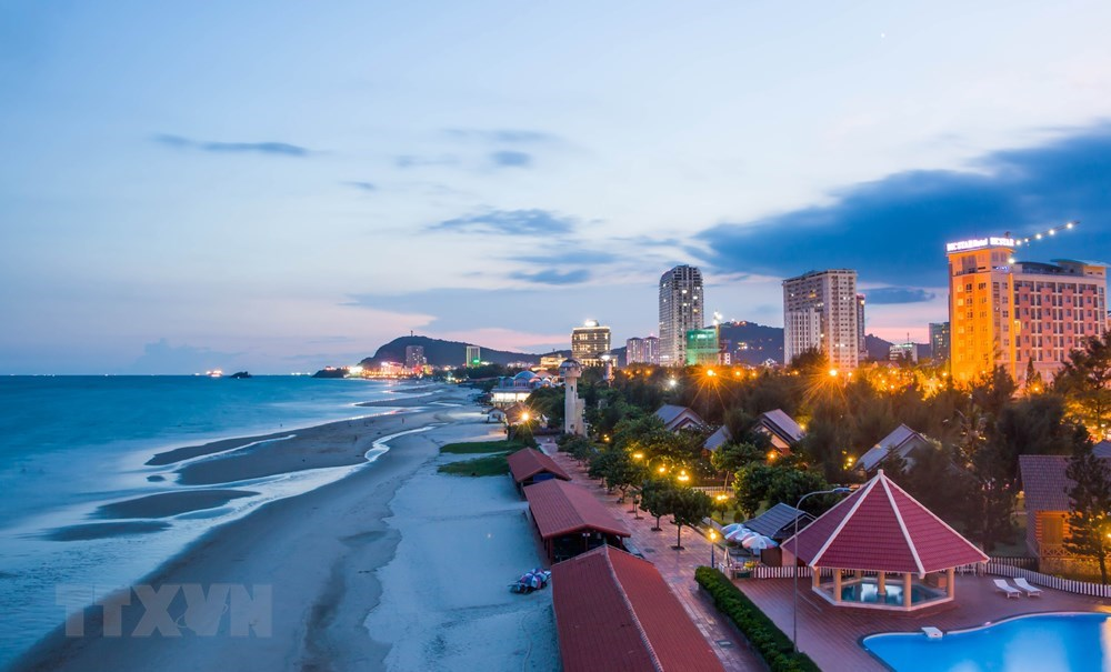 Alluring scene of Back Beach in Vung Tau beach city