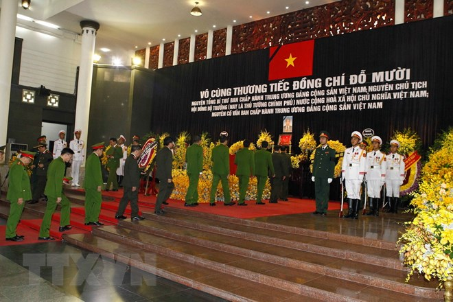 Foreign leaders send condolences over Do Muoi's passing,Government news, Vietnam breaking news, politic news, vietnamnet bridge, english news, Vietnam news, news Vietnam, vietnamnet news, Vietnam net news, Vietnam latest news, vn news