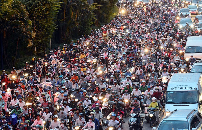 Motorbikes dominate Vietnamese travel - News VietNamNet