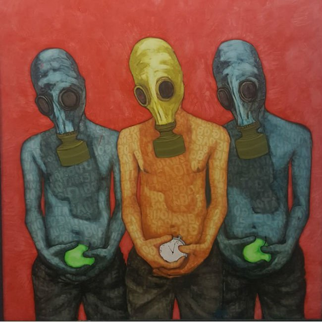 """Nguyen Thanh speaks out about environmental issues via """"The Mask"""""""