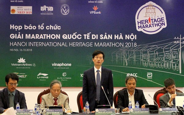 Over 2,500 athletes to run at Hanoi International Heritage Marathon