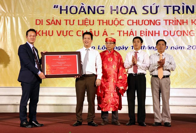 Certificate recognising ancient book as documentary heritage granted, entertainment events, entertainment news, entertainment activities, what's on, Vietnam culture, Vietnam tradition, vn news, Vietnam beauty, news Vietnam, Vietnam news, Vietnam net news,