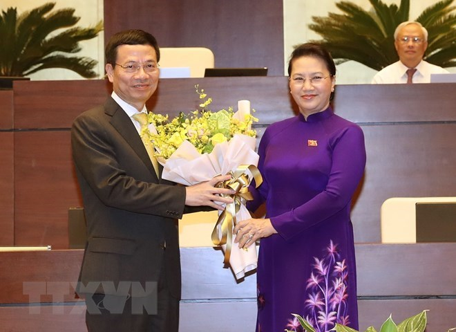 Nguyen Manh Hung appointed as Minister of Information and Communications, Government news, Vietnam breaking news, politic news, vietnamnet bridge, english news, Vietnam news, news Vietnam, vietnamnet news, Vietnam net news, Vietnam latest news, vn news