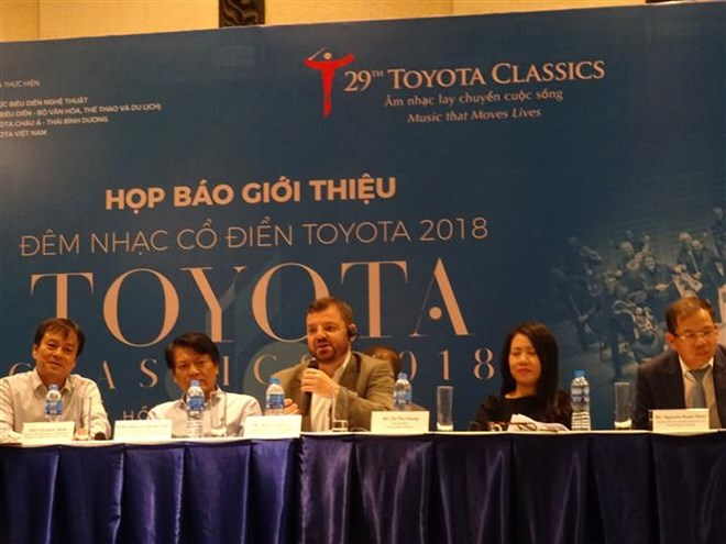 Toyota Classics 2018 to take place in HCM City this month, entertainment events, entertainment news, entertainment activities, what's on, Vietnam culture, Vietnam tradition, vn news, Vietnam beauty, news Vietnam, Vietnam news, Vietnam net news, vietnamnet