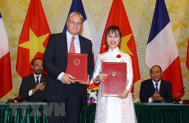 Vietjet signs contract to buy 50 Airbus aircraft, vietnam economy, business news, vn news, vietnamnet bridge, english news, Vietnam news, news Vietnam, vietnamnet news, vn news, Vietnam net news, Vietnam latest news, Vietnam breaking news