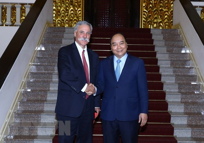 Prime Minister meets Formula One Group leader, Government news, Vietnam breaking news, politic news, vietnamnet bridge, english news, Vietnam news, news Vietnam, vietnamnet news, Vietnam net news, Vietnam latest news, vn news