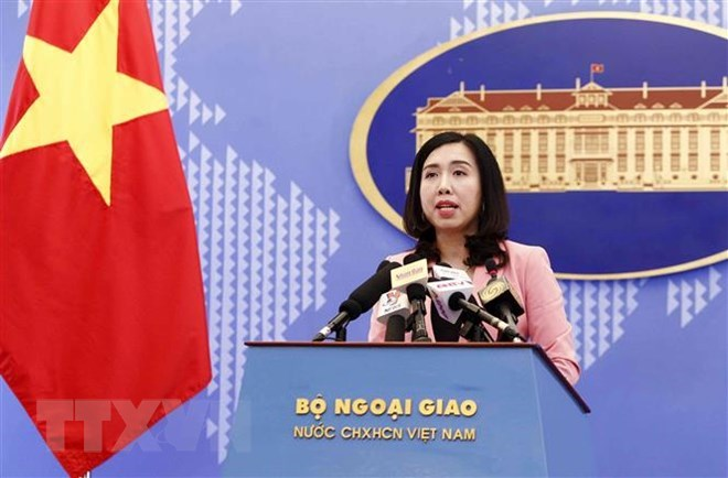 China's observatory operation in Truong Sa violates Vietnam's sovereignty, Government news, Vietnam breaking news, politic news, vietnamnet bridge, english news, Vietnam news, news Vietnam, vietnamnet news, Vietnam net news, Vietnam latest news, vn news
