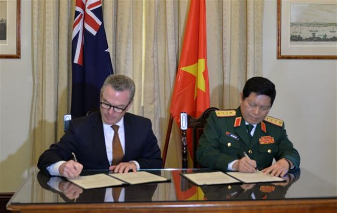 Vietnam, Australia sign joint declaration on defence cooperation, Government news, Vietnam breaking news, politic news, vietnamnet bridge, english news, Vietnam news, news Vietnam, vietnamnet news, Vietnam net news, Vietnam latest news, vn news