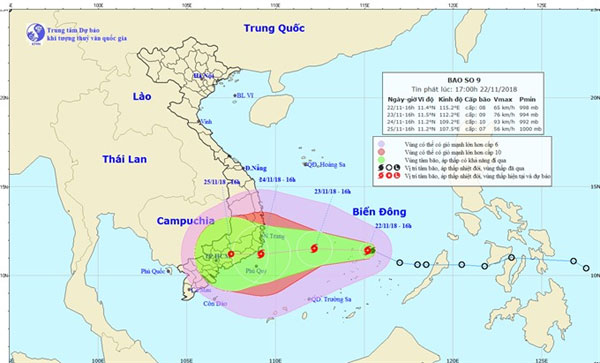 Typhoon Set To Hit Central Vn News Vietnamnet