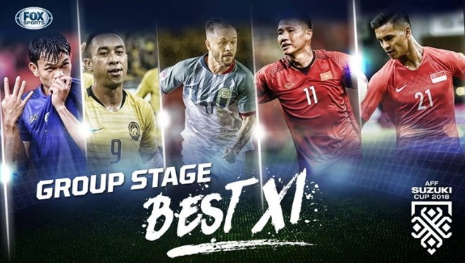 Two Vietnamese players listed in AFF Suzuki Cup group stage's best XI, Sports news, football, Vietnam sports, vietnamnet bridge, english news, Vietnam news, news Vietnam, vietnamnet news, Vietnam net news, Vietnam latest news, vn news, Vietnam breaking ne