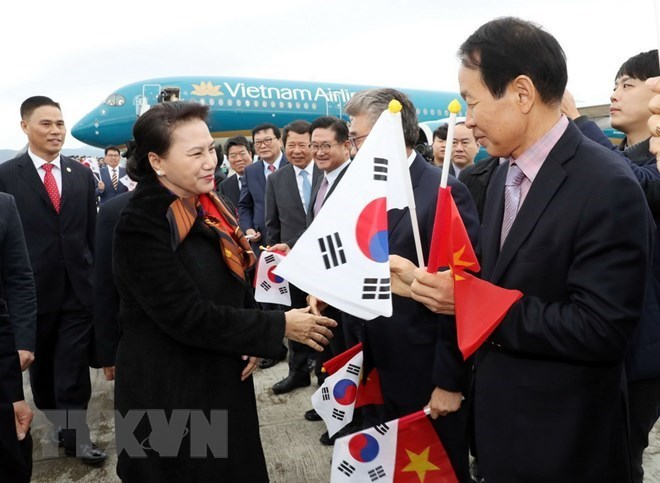 NA Chairwoman meets with Vietnam-RoK families in Busan, Government news, Vietnam breaking news, politic news, vietnamnet bridge, english news, Vietnam news, news Vietnam, vietnamnet news, Vietnam net news, Vietnam latest news, vn news