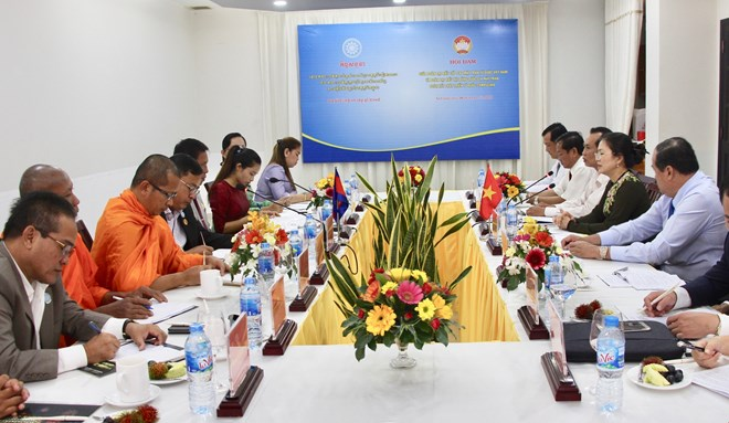 HCM City, Leipzig city of Germany seek cooperation opportunity, NA Chairwoman receives representatives of Ly families in RoK, Vietnam's army strengthens solidarity with Cuban armed forces