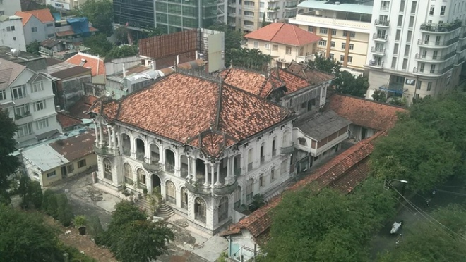 HCM City fails in heritage preservation
