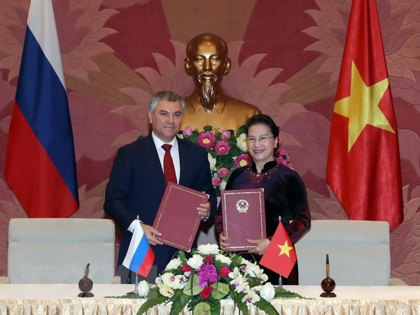 Vietnam treasures partnership with Russia: top leaders, Government news, Vietnam breaking news, politic news, vietnamnet bridge, english news, Vietnam news, news Vietnam, vietnamnet news, Vietnam net news, Vietnam latest news, vn news