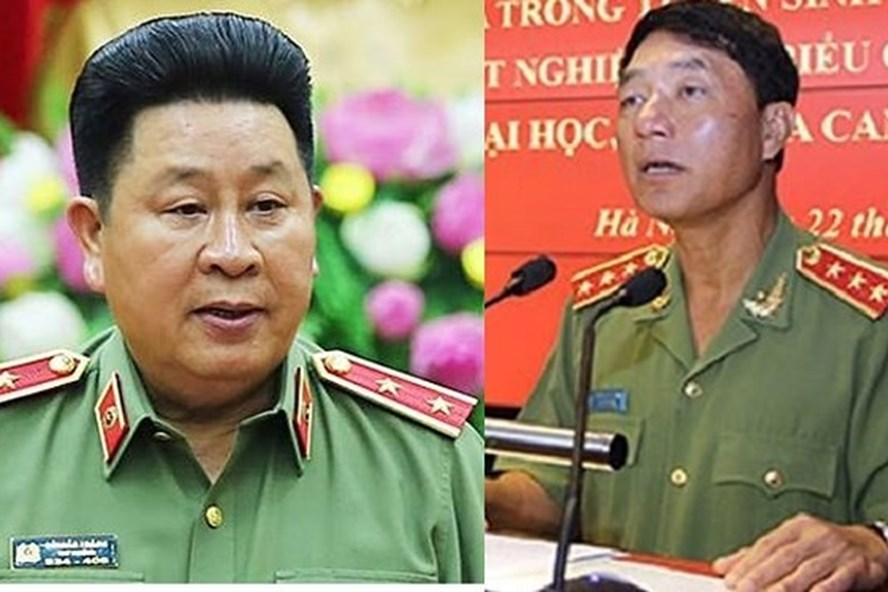 Two fallen police generals face up to 12 years in jail, social news, vietnamnet bridge, english news, Vietnam news, news Vietnam, vietnamnet news, Vietnam net news, Vietnam latest news, vn news, Vietnam breaking news