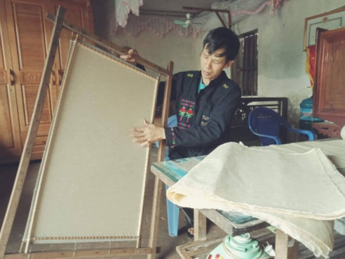 Poonah paper of the Cao Lan in Bac Giang, entertainment events, entertainment news, entertainment activities, what's on, Vietnam culture, Vietnam tradition, vn news, Vietnam beauty, news Vietnam, Vietnam news, Vietnam net news, vietnamnet news, vietnamnet