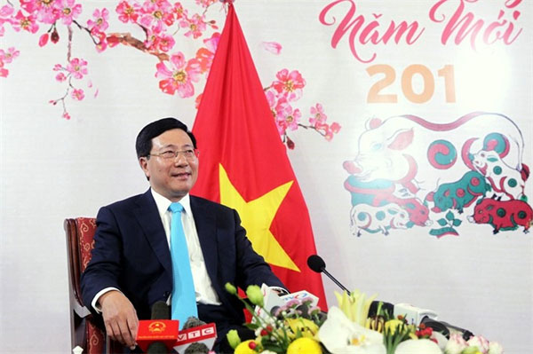 East Sea issue in the spotlight during press meeting