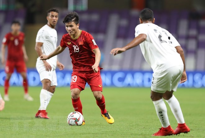 Hai among 10 best performers of Asian Cup's third round, Sports news, football, Vietnam sports, vietnamnet bridge, english news, Vietnam news, news Vietnam, vietnamnet news, Vietnam net news, Vietnam latest news, vn news, Vietnam breaking news