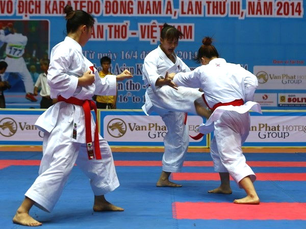 Asian Karate Championship 2019, Can Tho, host, Vietnam economy, Vietnamnet bridge, English news about Vietnam, Vietnam news, news about Vietnam, English news, Vietnamnet news, latest news on Vietnam, Vietnam
