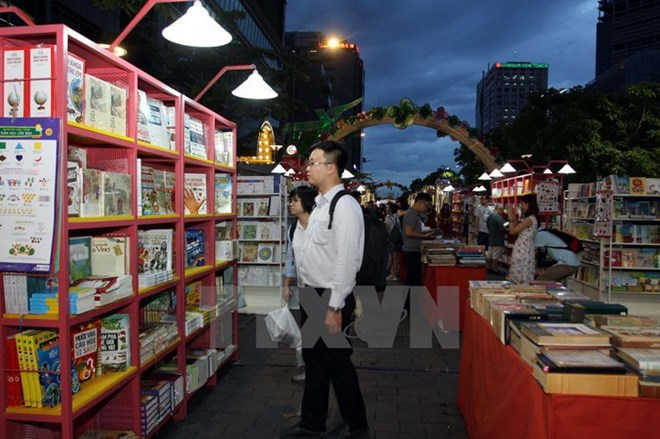 HCM City to open book street on Tet holiday, entertainment events, entertainment news, entertainment activities, what's on, Vietnam culture, Vietnam tradition, vn news, Vietnam beauty, news Vietnam, Vietnam news, Vietnam net news, vietnamnet news, vietnam