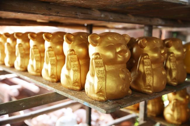 Piggy banks popular in Year of the Pig, entertainment events, entertainment news, entertainment activities, what's on, Vietnam culture, Vietnam tradition, vn news, Vietnam beauty, news Vietnam, Vietnam news, Vietnam net news, vietnamnet news, vietnamnet b