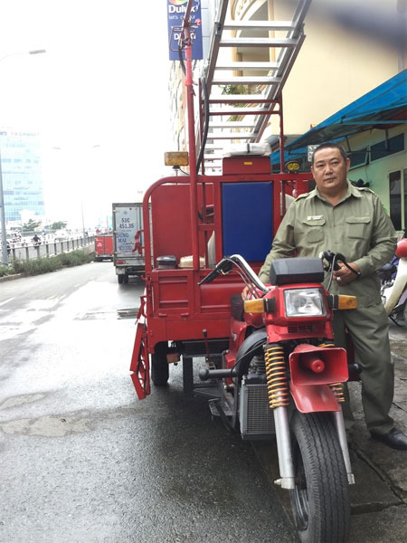 HCM City, mini firefighting vehicles, Vietnam economy, Vietnamnet bridge, English news about Vietnam, Vietnam news, news about Vietnam, English news, Vietnamnet news, latest news on Vietnam, Vietnam