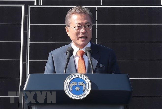 RoK President optimistic about DPRK-US summit in Hanoi, Government news, Vietnam breaking news, politic news, vietnamnet bridge, english news, Vietnam news, news Vietnam, vietnamnet news, Vietnam net news, Vietnam latest news, vn news