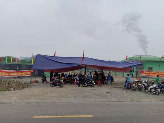 Ky Anh residents continue pollution protest, Vietnam environment, climate change in Vietnam, Vietnam weather, Vietnam climate, pollution in Vietnam, environmental news, sci-tech news, vietnamnet bridge, english news, Vietnam news, news Vietnam, vietnamnet