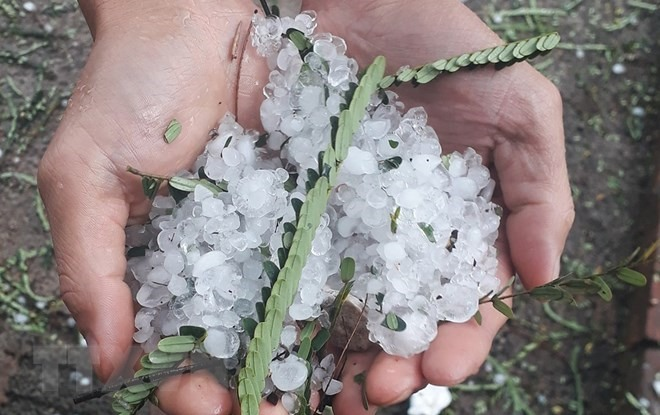Hail and storms in northern mountainous region cause $1.1 million in damages