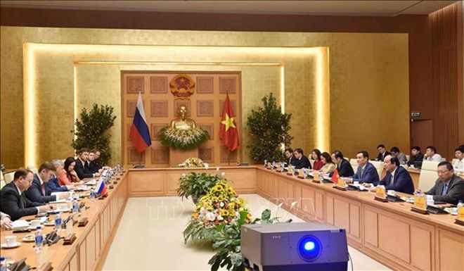 Russia willing to help Vietnam build e-government