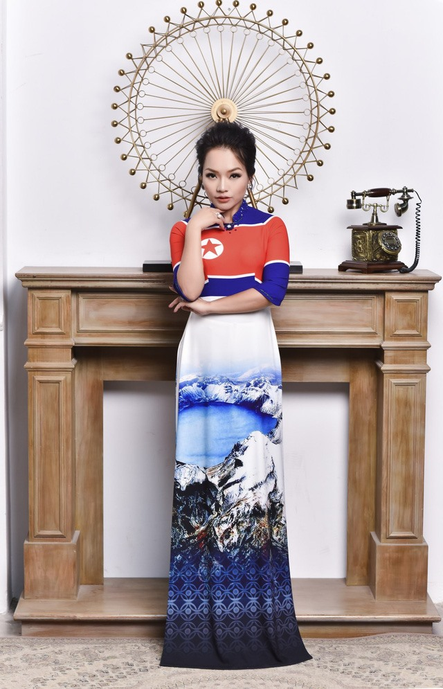 Vietnamese designers launch new collection celebrating DPRK-USA summit, entertainment events, entertainment news, entertainment activities, what's on, Vietnam culture, Vietnam tradition, vn news, Vietnam beauty, news Vietnam, Vietnam news, Vietnam net new