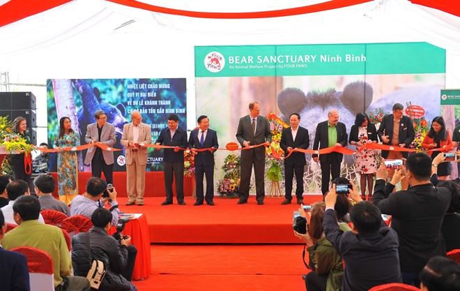 Bear conservation centre opened in Ninh Binh province, Vietnam environment, climate change in Vietnam, Vietnam weather, Vietnam climate, pollution in Vietnam, environmental news, sci-tech news, vietnamnet bridge, english news, Vietnam news, news Vietnam,