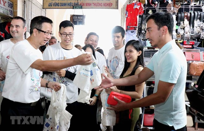 HCM City campaign calls for joint actions to reduce plastic waste, Vietnam environment, climate change in Vietnam, Vietnam weather, Vietnam climate, pollution in Vietnam, environmental news, sci-tech news, vietnamnet bridge, english news, Vietnam news, ne