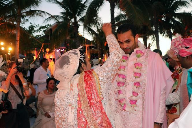 Indian billionaire couple hold wedding party in Phu Quoc, entertainment events, entertainment news, entertainment activities, what's on, Vietnam culture, Vietnam tradition, vn news, Vietnam beauty, news Vietnam, Vietnam news, Vietnam net news, vietnamnet